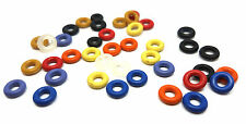 Select Gauge/Colour - Rubber O-Rings Ear Taper Tunnel Plugs Bands Replacement
