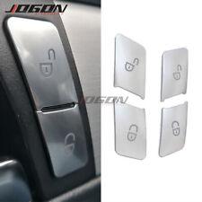 For Mercedes Benz C E Class W204 W212 Door Lock Unlock Buttons Sequins Cover