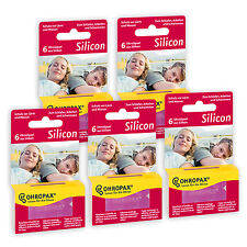 5 x Packs - Ohropax Silicon Earplugs