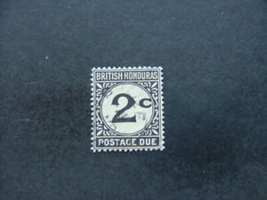 British Honduras 1923 2c black Postage Due SGD2 FU