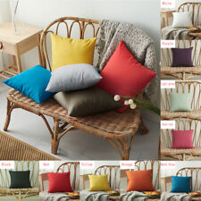 Plain Waterproof Office Furniture Seat Chair Indoor Outdoor Cushion Cover Cases