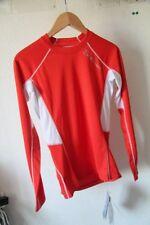 Original Tee shirt ML  homme SALOMON Trail Runner Warm LS Tee Rouge  XS  neuf