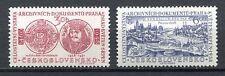 37065) CZECHOSLOVAKIA 1958 MNH** National Archives 2v