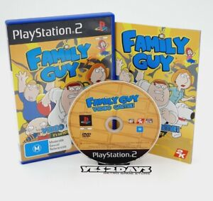 FAMILY GUY video Game | Sony PlayStation 2 ps2 Complete Manual & MINT Disc