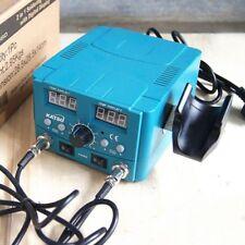 Katsu 852D 2 en 1 pistola de aire caliente Calefacción de Soldadura Estación De Retrabajo Digital De Hierro