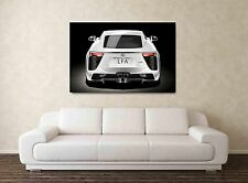 Lexus LFA - 30x20 Inch Canvas Art - Framed Picture Poster Print Supercar