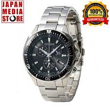 Citizen VO10-6771F ALTERNA Eco-Drive Chronograph Watch 100% Genuine JAPAN