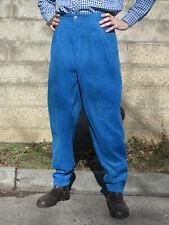 BRAM´S PARIS Cordhose Hose blau pants 90er True VINTAGE 90s trousers blue NOS