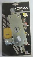 Thema serratura triplice x serranda e basculanti in acciaio zincato con 2 chiavi