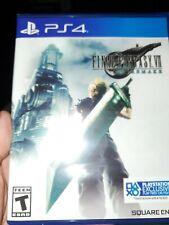 Final Fantasy Vii: Remake (PlayStation 4, 2020) Sealed Brand New