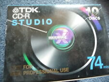 TDK CD-R Studio 74 - Box of 10 blank CD-R discs