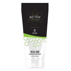 ACTiiV Hair Science Renew Healing Cleansing Treatment 6 oz / 180 ml repairs