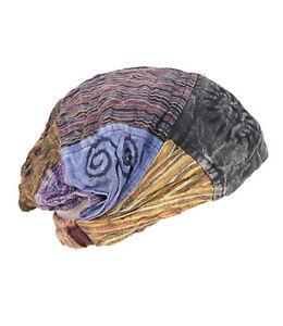 Cotton Bandana Headband Patchwork Bandana Hippy Headband