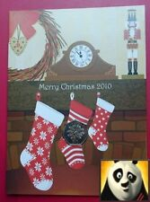 2010 GIBRALTAR Christmas 50p Fifty Pence Partridge in a Tree Coin Card