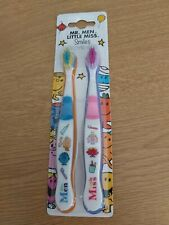Mr Men Little Miss Toothbrush set