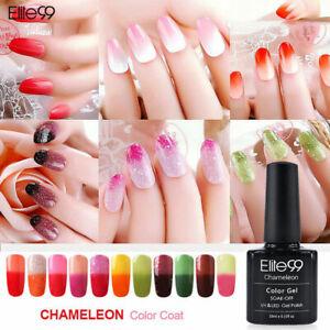 Temperature Colour Changing Gel Polish Nail Art Varnish UV LED 10ML Manicure