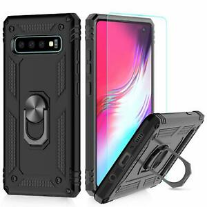 For Samsung Galaxy S10 S10e Plus Heavy Duty Hybrid Shockproof Cover Case