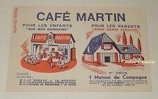 BUVARD extra CAFE MARTIN - Jeux Instructifs - Grand Concours