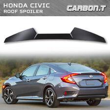 Painted Color For Honda Civic 10th 4D Sedan V Type Rear Roof Spoiler DX EX LX