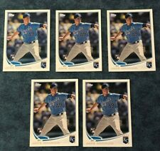 2013 TOPPS JAKE ODORIZZI ROOKIE CARD #232 LOT OF 5 CARDS