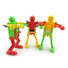 Dancing Robot Toys Plastic Clockwork Spring Wind Up Dancing Robot Kids Xmas Gift