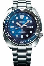 Nuevo Seiko Automático Prospex Blue Wave Tortuga Buzos Reloj para hombres 200M srpd 21