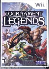 Tournamant of Legends (Wii)    Factory Sealed Cellophane