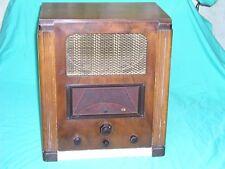 Vintage Marconi Valve Radio Model No 557 Sn 105743