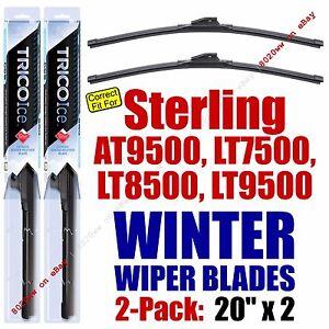 WINTER Wipers 2pk 1999-2008 Sterling Truck AT9500 LT7500 LT8500 LT9500 - 35200x2