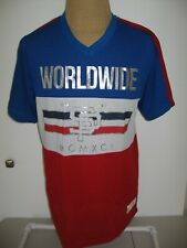 Southpole Worldwide 1991 Jersey Adult Mens Large Red White Blue New w/tags