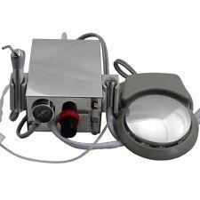 Portable Dental Turbine Unit Work With Air Compressor With Triplex Syringe 2 Hole