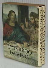 2 volumi LEONARDO DA VINCI De Agostini 1964 Arte pittura disegni
