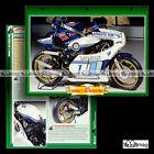 #126.06 Fiche Moto SONAUTO-YAMAHA TZ 750 PATRICK PONS 1979 Racing Motorcycle