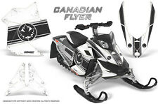 SKI-DOO REV XP SNOWMOBILE SLED GRAPHICS KIT WRAP CREATORX DECALS CAN FLYER BW