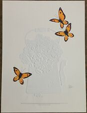 """Jerry Oliver """"Butterfly Fantasy"""" S/N Ltd Ed Print #1265/2000"""