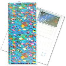 Business Card Book File Fish Sea Ocean Underwater  3D Lenticular #R-118-BF128#
