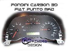FONDINI CARBON 3D PER FIAT PUNTO 2