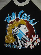 Vintage Concert T-Shirt THE CARS 82 NEVER WORN  NEVER  WASHED  SHAKE IT UP