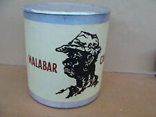 LATTA CAFFE' MALABAR BIDONE ARABICA BAR EPOCA TIN OLD ESPRESSO