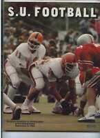 1980 Syracuse vs Northwestern football program  MBX60