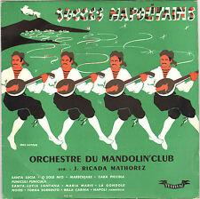 """ORCH. DU MANDOLIN' CLUB """"SUCCES NAPOLITAINS"""" 50'S 25 CM FESTIVAL 44"""