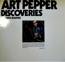 ART PEPPER DISCOVERIES the savoy sessions 2LP 1984 NM++