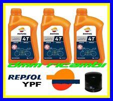 Kit Tagliando HONDA HORNET 600 07>08 Filtro Olio REPSOL 10W30 CB 600F 2007 2008