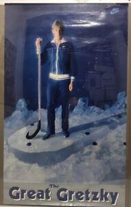 Vintage 1981Wayne GretzkyNike Poster The Great Gretzky 22 X 36 RARE Tracksuit