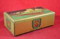Vintage Cote d'Or Universal Exhibition of 1935 in Brussels Belgium Tin Box RARE