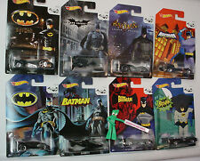 htf 2014 Hot Wheels 75 Years BATMAN ☆BATMOBILE;The BAT✰Walmart Exclusive 8 set