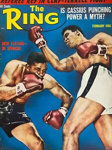 THE RING MAGAZINE FEBRUARY 1966 CASSIUS CLAY