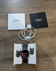 Fossil  Gen 5 Carlyle HR 44mm, Smoke, Lightly Used