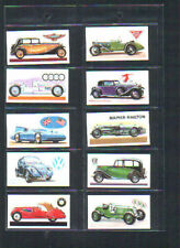 Complete/Full Sets Motor Cars/Bikes Collectable Tea Cards