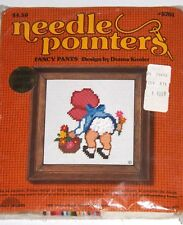 Sealed FANCY PANTS NEEDLEPOINTER'S KIT #5701 Donna Kooler SUNBONNET BABY 1975